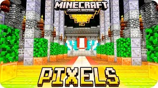 getlinkyoutube.com-Minecraft PE Textures - RADIAN PIXELS Texture Pack for iOS & Android - MCPE 1.0.1 / 1.0