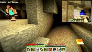 getlinkyoutube.com-Minecraft Zaragoza - [SURV] - Enseñando a mi novia - Ep.3 Mazmorra!!!