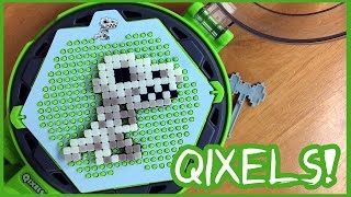 getlinkyoutube.com-Quixels Review - Like Beados But Cubes that Join with Water