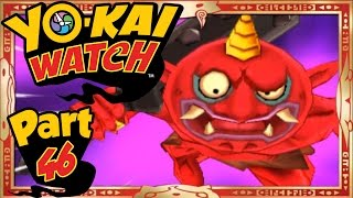 getlinkyoutube.com-Yo-Kai Watch - Part 46 | How To Find & Beat Gargaros The Red Oni! [English Gameplay Walkthrough]