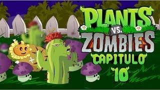 getlinkyoutube.com-Plantas vs zombies animado 10 (PARODIA) Jehu Llerena