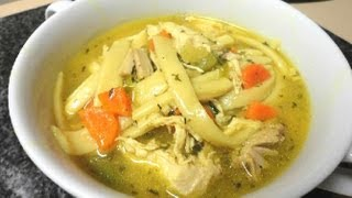 Download video chicken noodle soup how to make classic for How do you make chicken noodle soup