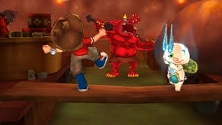 【3DS】妖怪ウォッチ2真打限定_#3ゲラゲラツアー漫遊記_コマさんもびっくり!?きもだ飯