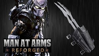 getlinkyoutube.com-Predator Blades (Alien vs. Predator) - MAN AT ARMS: REFORGED