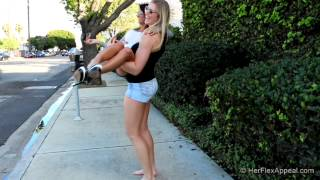 getlinkyoutube.com-Danica And Riley - Walking And Lifting
