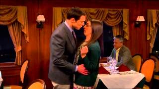 Doctor Sheldon Cooper's Lessons in Romance. How to kiss a woman