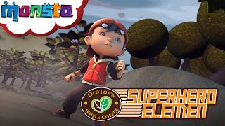 getlinkyoutube.com-Oldtown White Coffee's Superhero Elemen: Ketibaan BoBoiBoy!