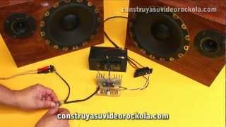 getlinkyoutube.com-Amplificador estéreo con TA8210