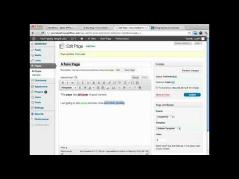 How To Add a Hyperlink To WordPress - WordPress Tutorial