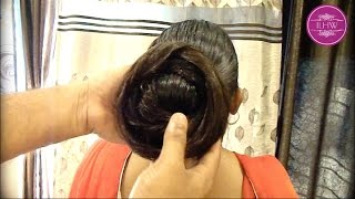 getlinkyoutube.com-Knee Length Heavy oiled Mane Combing & Buning by Male ( Christmas Special)