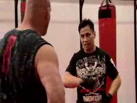 Goldberg Toe to Toe (extended) with Cung Le