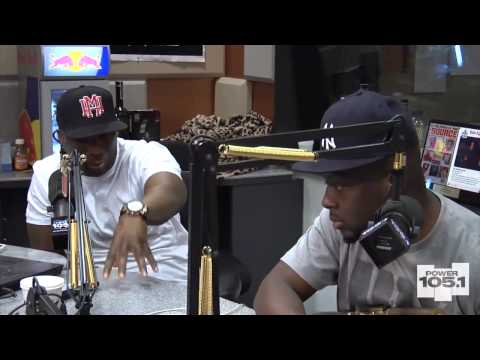 Wyclef Jean interview at The Breakfast Club ,May 2013 . he's still dope.