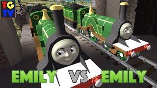 getlinkyoutube.com-Thomas & Friends: Go Go Thomas! - Emily VS Emily