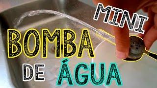 getlinkyoutube.com-Mini bomba d`agua caseira elétrica (Como fazer)