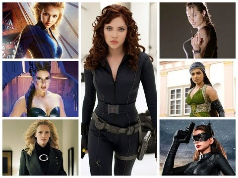 The Top 10 Super Heroines In Movies!