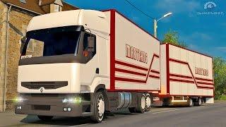 getlinkyoutube.com-Renault Premium Tandem ETS2 (Euro Truck Simulator 2)
