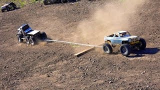 getlinkyoutube.com-RC ADVENTURES - TTC 2015 - TUG of WAR - Tough Truck Challenge  (Event 2)