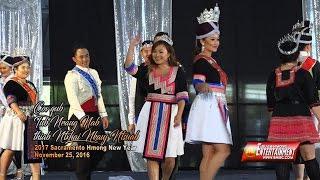 getlinkyoutube.com-SUAB HMONG E-NEWS:  Former Mr. and Miss Hmong California, 2017 Miss Hmong Contestants, and dance