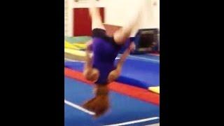 getlinkyoutube.com-Front Aerial Drills With Coach Meggin! (Professional Gymnastics Coach)