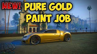 "getlinkyoutube.com-GTA 5 Online: New! Pure Gold Paint Job! ""I'm Not a Hipster"" DLC - GTA V Gameplay"