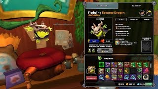 getlinkyoutube.com-Dungeon Defendsers 2: January Monthly Pet Ability Showcase Scrouge Dragon's Plague Claw