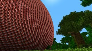 getlinkyoutube.com-MINECRAFT 1,295,173,932 BLOCK TNT BALL (WITH EXPLOSION, AFTERMATH AND DOWNLOADS) BIGGEST EVER!
