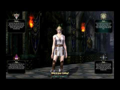 Female High Elf Character Creation - Beta 2 - RIFT - [1080p]