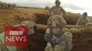 getlinkyoutube.com-Inside British Army training mission in Kenya - BBC News