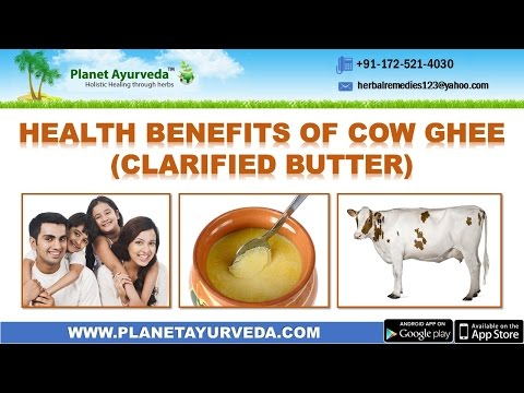 What are the Health Benefits of Cow Ghee (Clarified Butter)