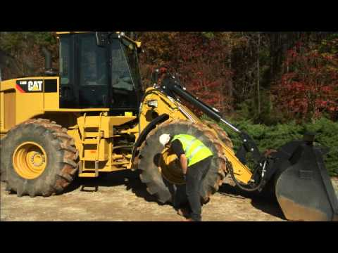 Walk Around Inspection Information for the Cat Small Wheel Loader
