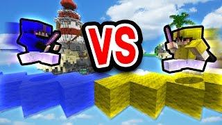 getlinkyoutube.com-JOUSTING WITH KNOCKBACK STICKS! (Minecraft Bed Wars)