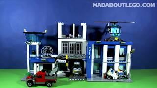 getlinkyoutube.com-LEGO CITY POLICE STATION 60047
