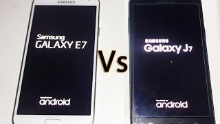 getlinkyoutube.com-Samsung Galaxy J7 Vs Samsung Galaxy E7