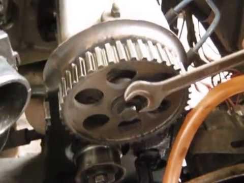 Замена сальников коленвала и распредвала передней части дв авто ВАЗ 2108,09,099,14,15. Часть 1