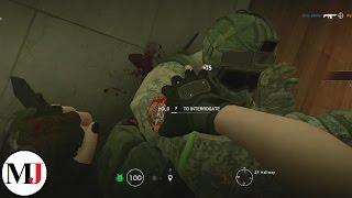 Caveira Clutch Ace Hostage Save - Rainbow Six Siege
