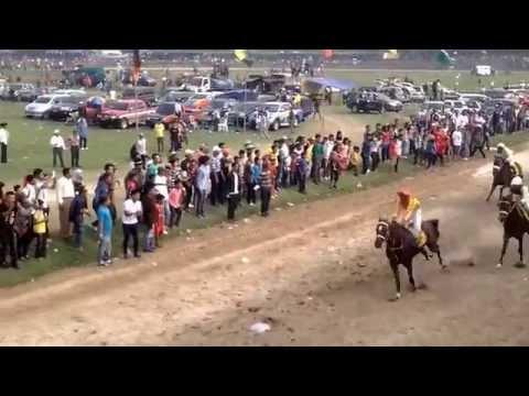 pacuan kuda 1200m noor, stoner, queen of kandi batusangkar 2014