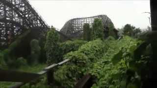 getlinkyoutube.com-【心霊】奈良ドリームランド廃墟2 木造コースター飛鳥 nara dreamland ruin2  biggest roller coaster
