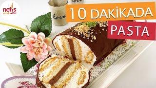 getlinkyoutube.com-10 Dakikada Silindir Şekilli Pasta Tarifi