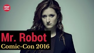 SDCC 2016: Grace Gummer de Mr. Robot