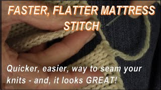 getlinkyoutube.com-Faster! Flatter! Mattress Stitch Seam for Knitters by Diana Sullivan