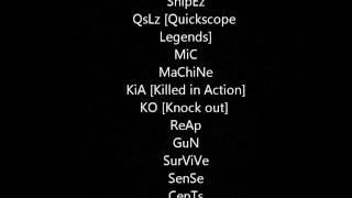 getlinkyoutube.com-30 Epic Clan Names