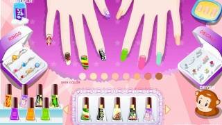 getlinkyoutube.com-Bling Bling Nails DIY