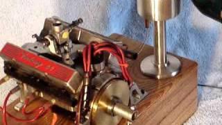 getlinkyoutube.com-World's Smallest running v8 engine