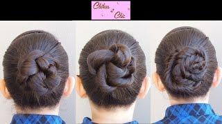 getlinkyoutube.com-Peinados Faciles y Rapidos con Trenzas (3 opciones) - Braided Buns | Trenzas y Peinados