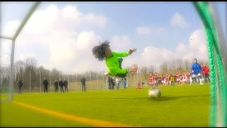 getlinkyoutube.com-Seven Year Old Goalkeeper Bobby - Amazing Saves Best Of Summer Season 2015