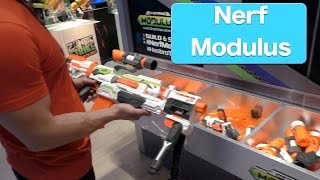 getlinkyoutube.com-NERF N-STRIKE MODULUS ECS-10 Blaster And Expansion Kits, First Look Toy Fair 2015