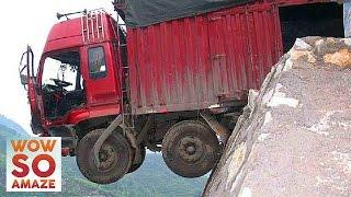getlinkyoutube.com-Top 5 Most Dangerous Roads in The World