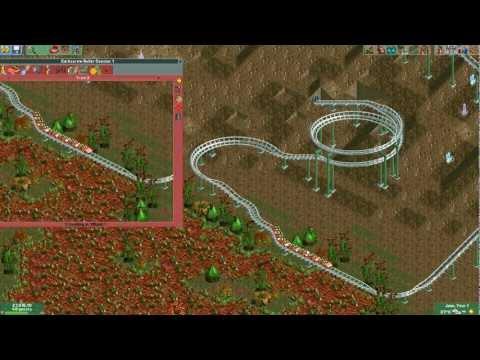 Rollercoaster Tycoon 2, odc. 2 - budujemy kolejkę!
