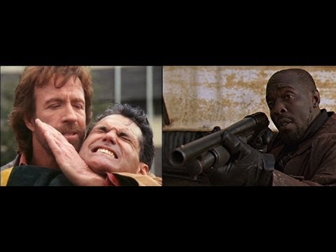 Walker Texas Ranger and Omar Little Struggle to Shut Down the WMD Warehouse