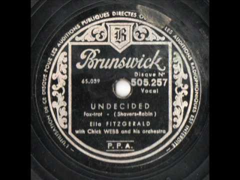 Ella Fitzgerald - Undecided
